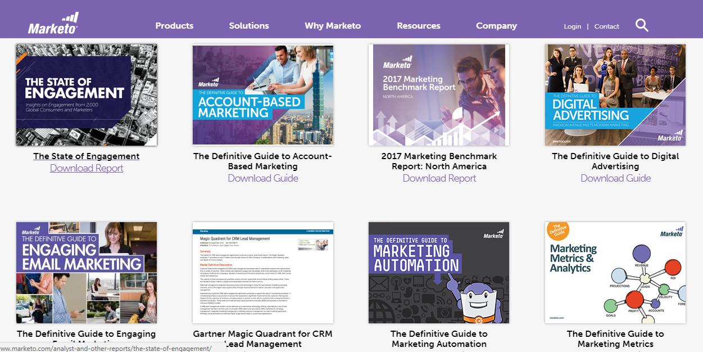Content Ideas: Whitepaper Marketo