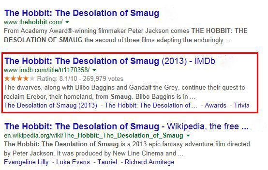 Search Results Schema Markup